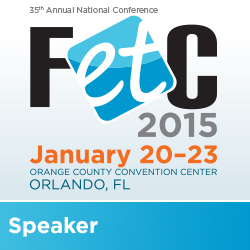 I'm Speaking at FETC